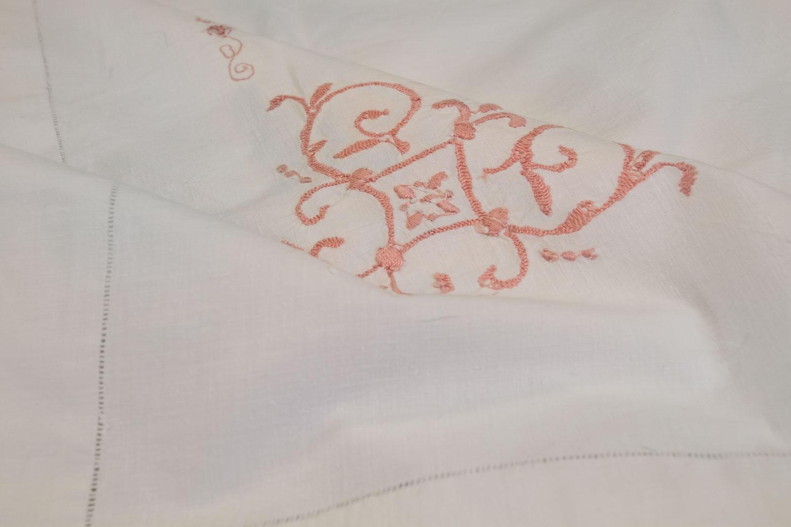 Rosalba vintage flat sheet