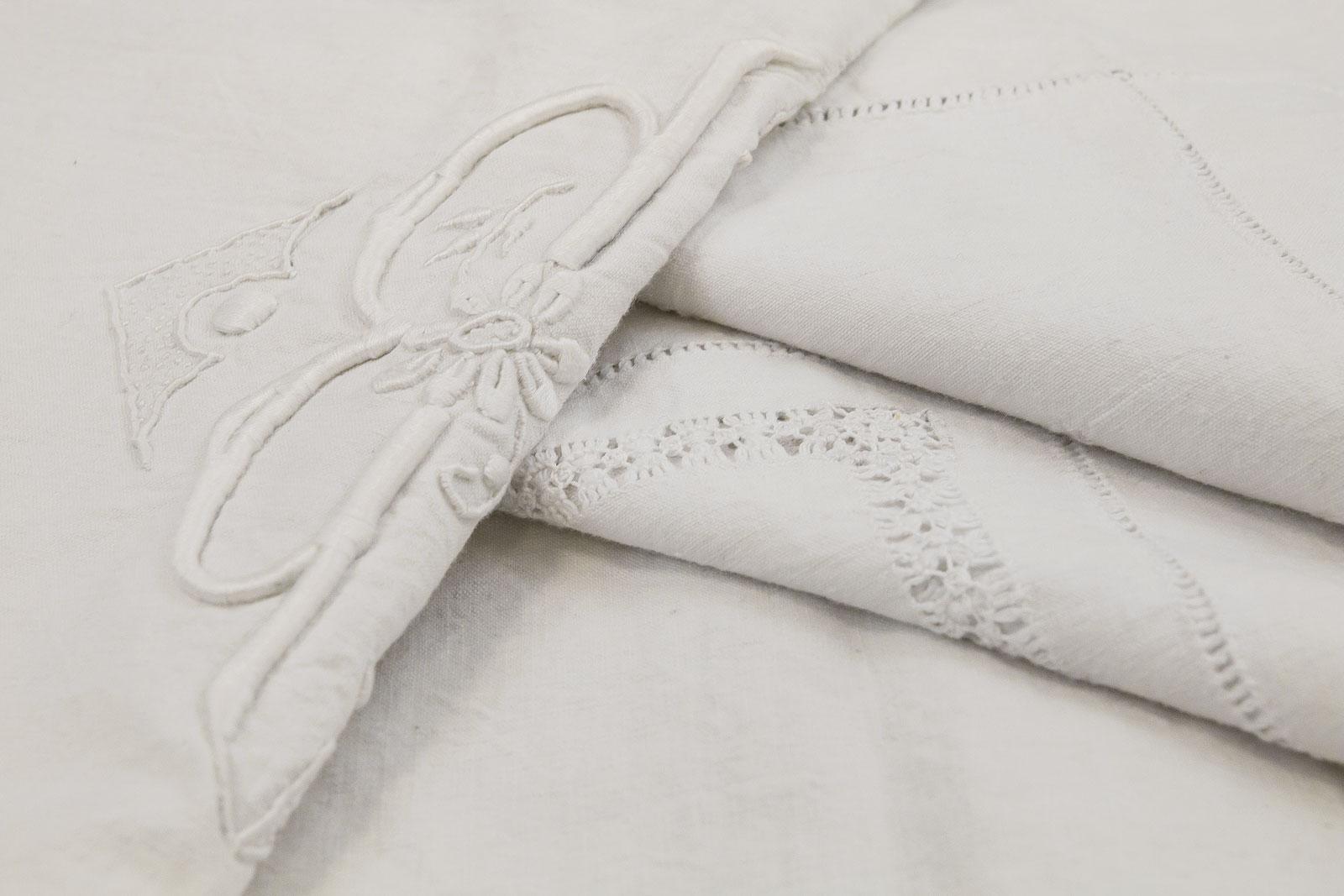 Margherita italian linen flat sheet