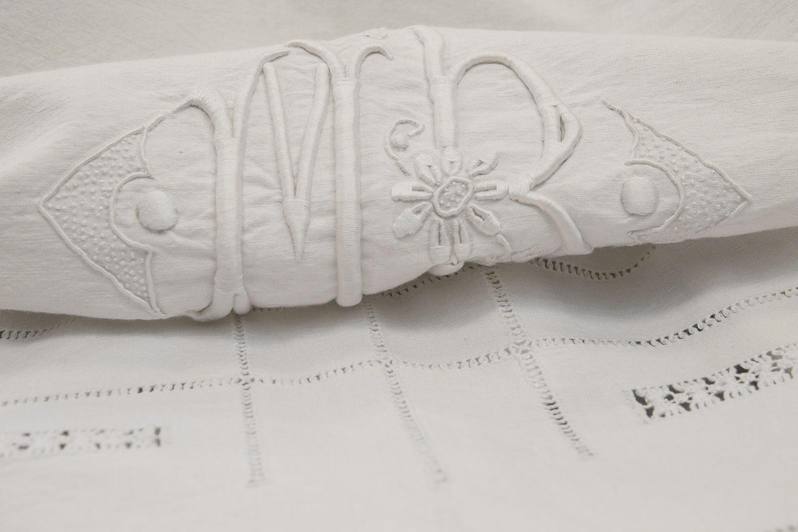 Margherita Italian Linen Flat Sheet