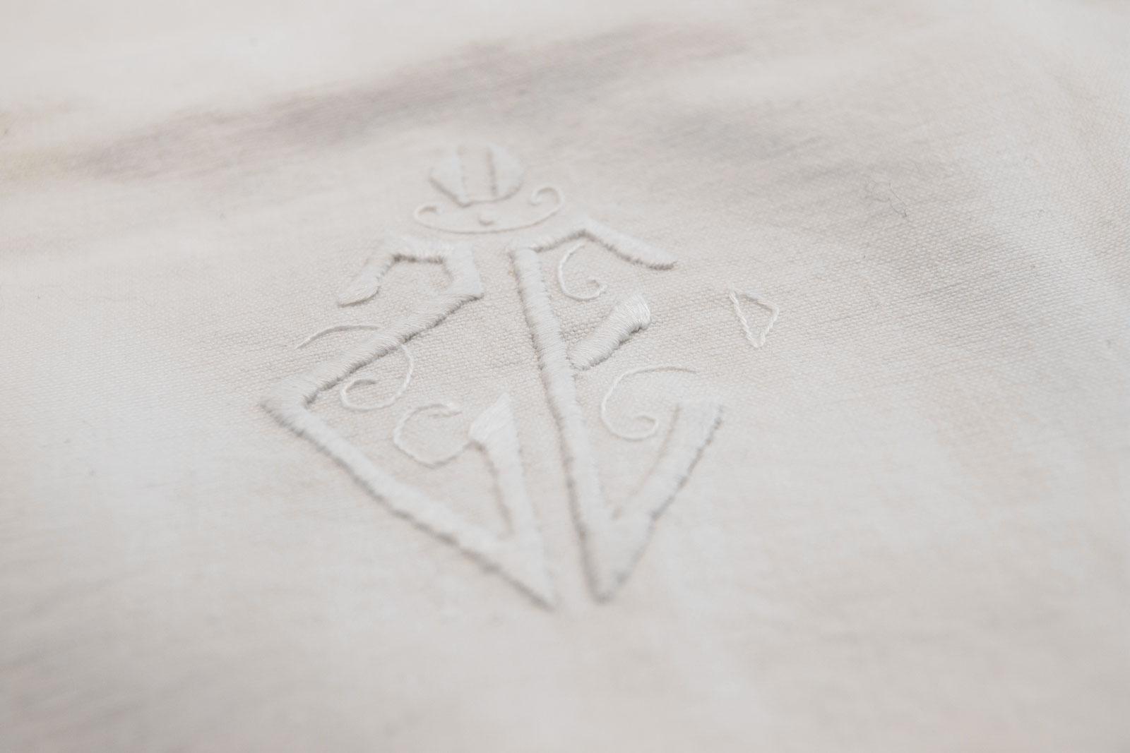 Adelaide vintage heritage linen duvet cover